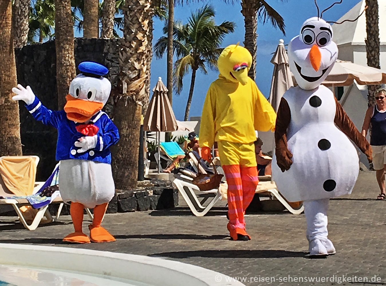Kinderanimation im Hotel Riu Paraiso Lanzarote Resort