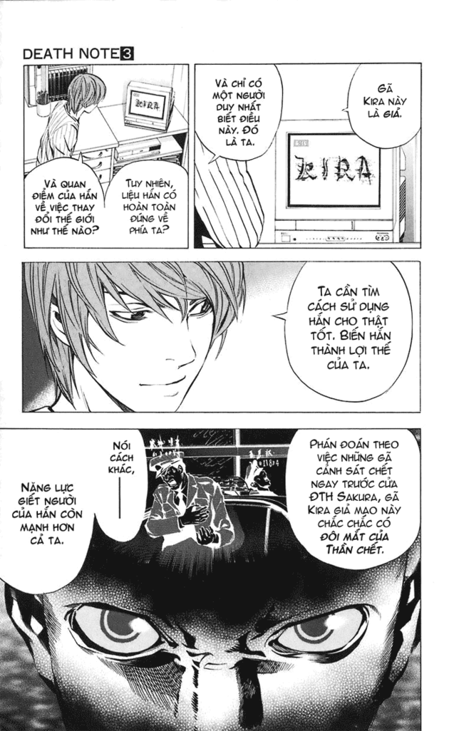 Death Note chapter 025 trang 4