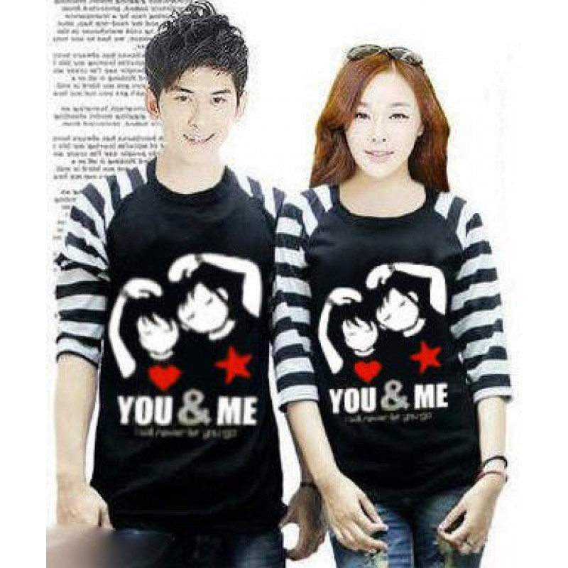 Jual Baju Couple Kimono You and Me - 23971