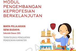 10 Modul PKB Seni Budaya SD Revisi 2017