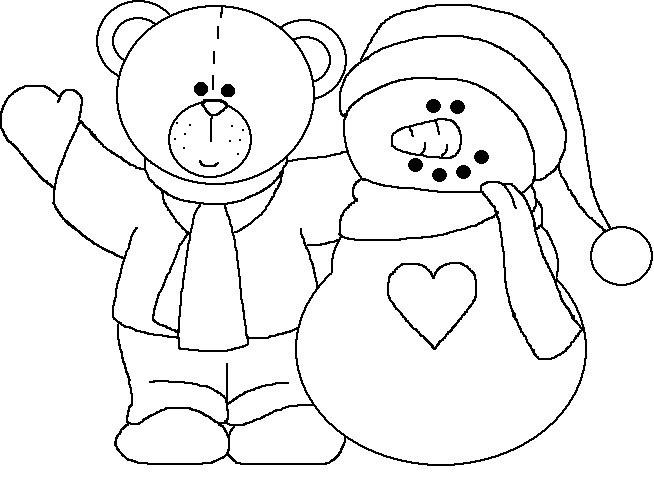 Natal Muitos Desenhos E Moldes De Boneco De Neve Para Colorir