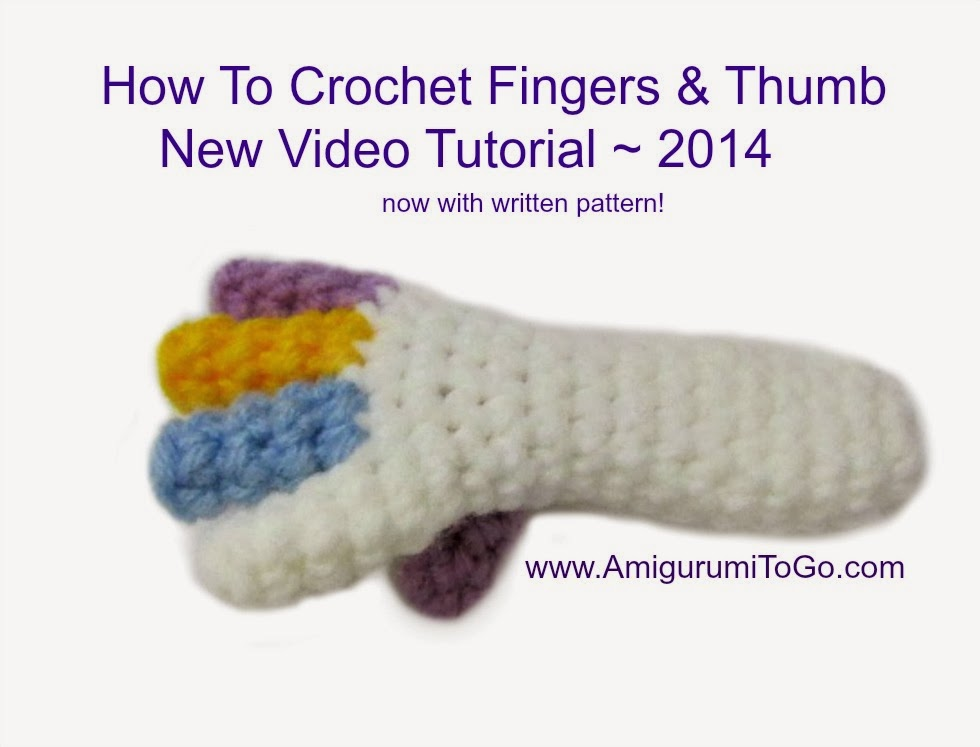 Amigurumi Freely Fingers And Toes