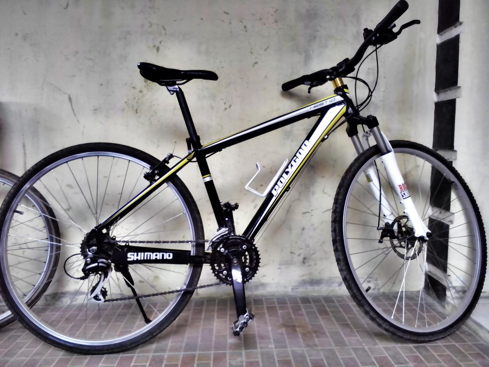 Fcs Fuat Cepat Selamat Dijual Sepeda Polygon Heist 1 0