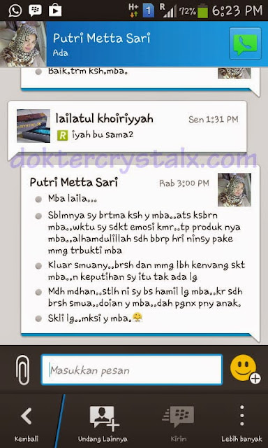 Testimoni Manfaat Crystal X Asli NASA 1