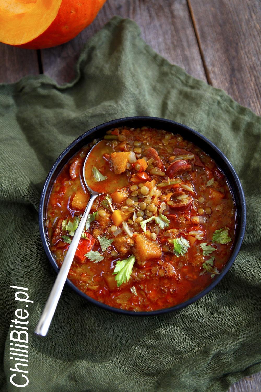 Chillibite Pl Motywuje Do Gotowania Hiszpanska Zupa Z Dynia I