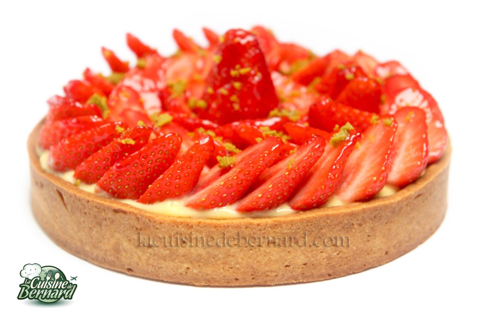 Tarte aux fraises grand chef
