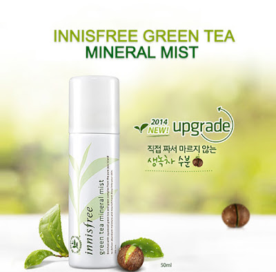 Innisfree, Green Tea Mineral Mist