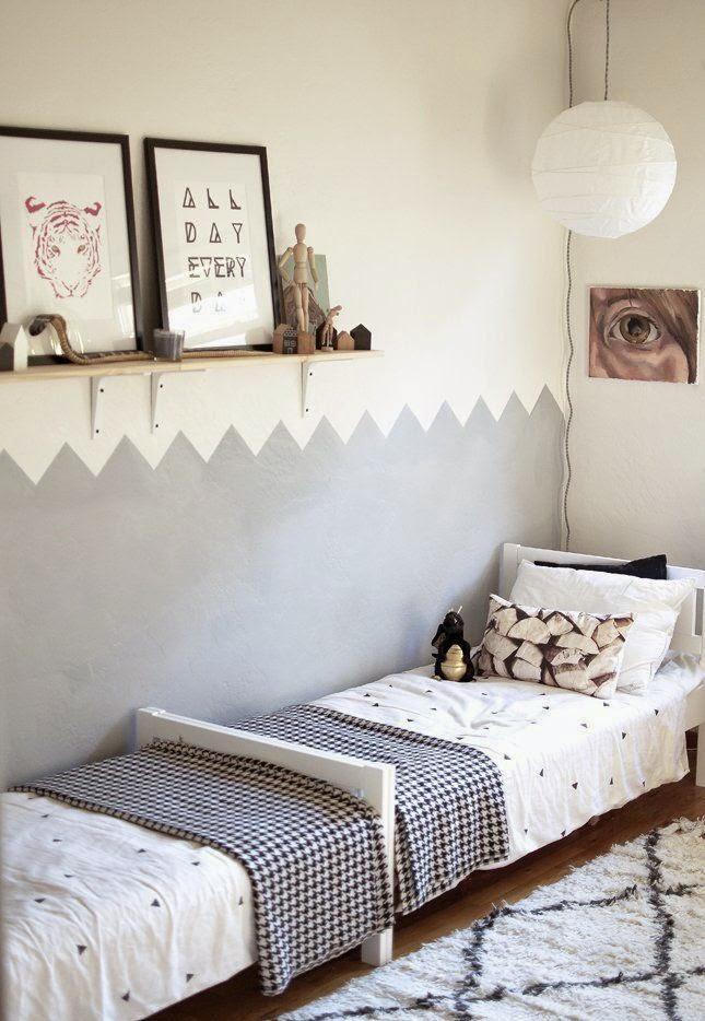 interieur & kids | gedeelde kinderkamer inrichten - tips, Deco ideeën