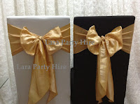 Gold Sashes