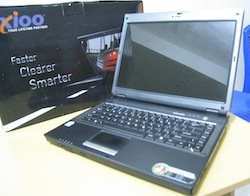 jual laptop second axioo neon gl-31