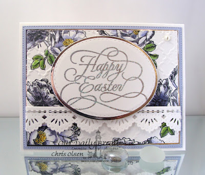 Our Daily Bread Designs Stamp Sets: Fragrance, Flourished Happy Easter, Our Daily Bread Designs Custom Dies: Stitched Ovals, Ovals, Beautiful Borders, Flourished Star Pattern