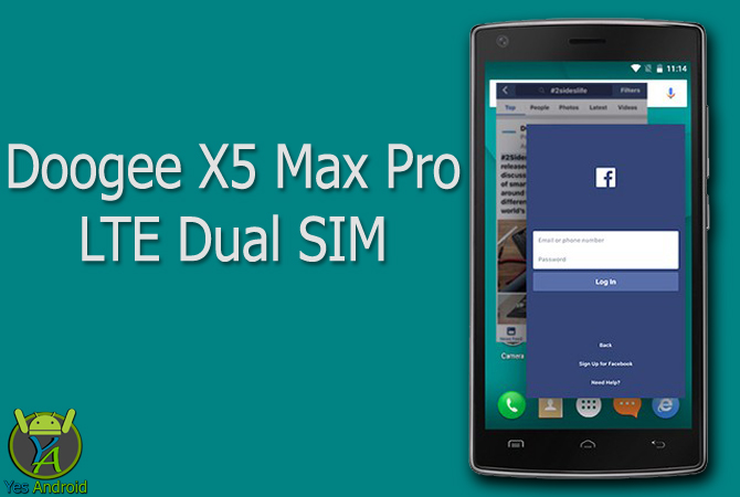 Doogee X5 Max Pro LTE Dual SIM Full Specs Datasheet