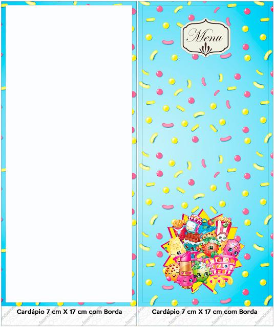 Shopkins: Imprimibles Gratis para Fiestas.