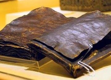 Kutiban Injil Barnabas yang meriwayatkan mengenai  Nur Muhammad Di Dalam Injil Barnabas