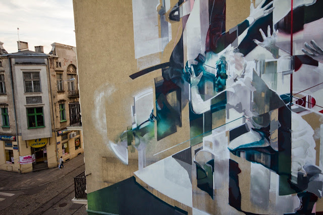 Street Art By Polish Artist Tone For Fundacja Urban Forms 2013 In Lodz, Poland. 4