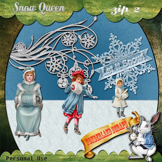 Monday freebie of Snow Queen