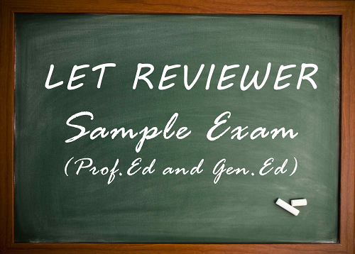 LET Sample Exams