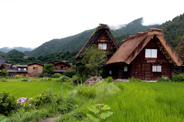 Casas de Shirakawa-go