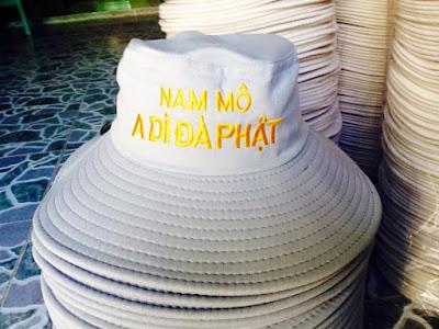Nhận sản xuất nón phất tử số lượng nhỏ, in thêu theo yêu cầu cho đơn hàng gấp
