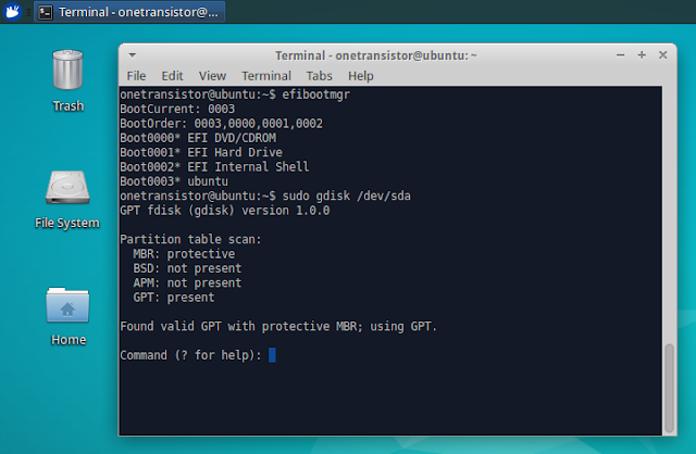 Ubuntu minimal cd efi boot