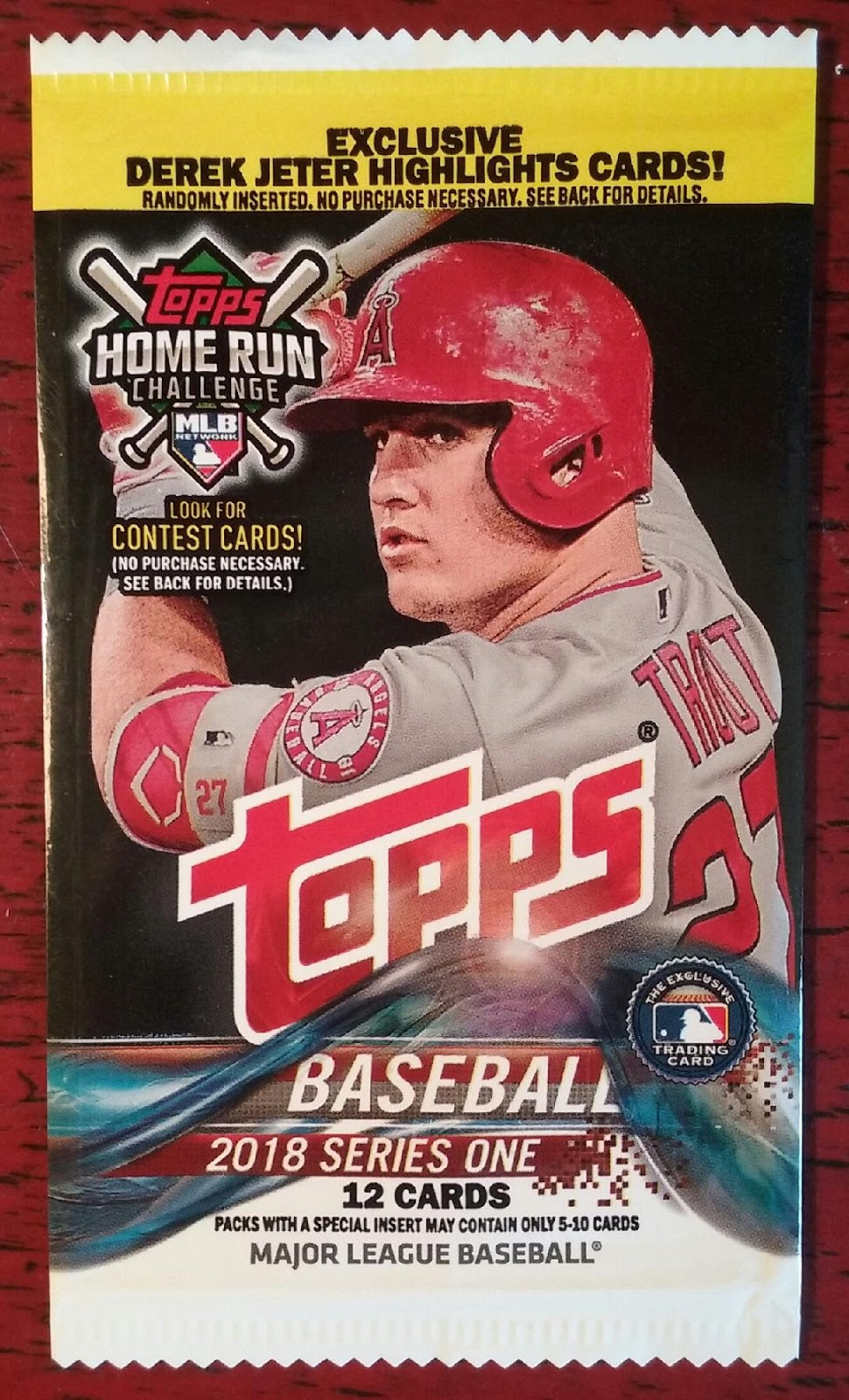 The Angels In Order 2018 Topps Series One Target Version