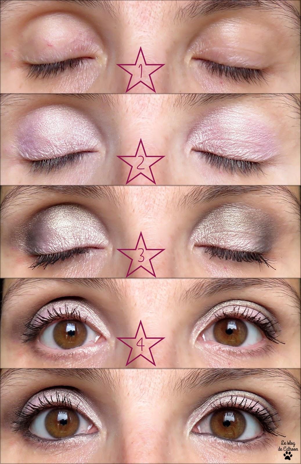 tutoriel maquillage pour yeux marrons