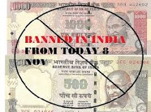 Ban 500Rs. & 1000Rs. Currency And New 500Rs. & 2000Rs.  in India