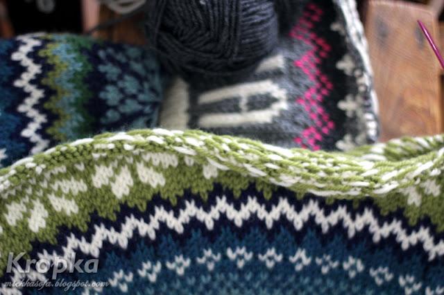 Robótki ręczne na drutach