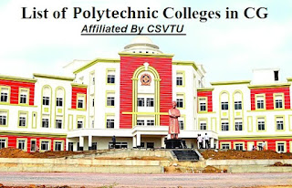 list of polytechnic colleges in chhattisgarh