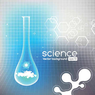 science vector background