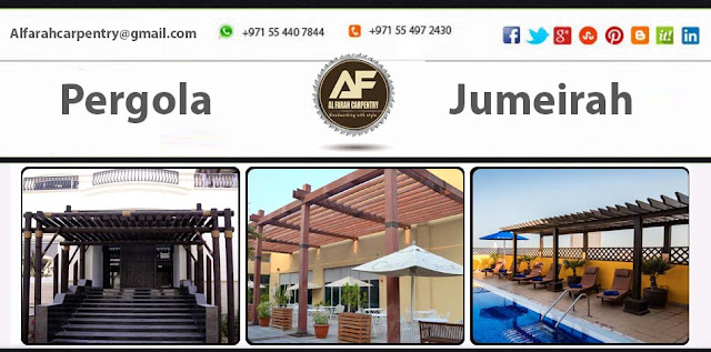 Complete Project Luxury Pergola At Jumeirah Island Dubai