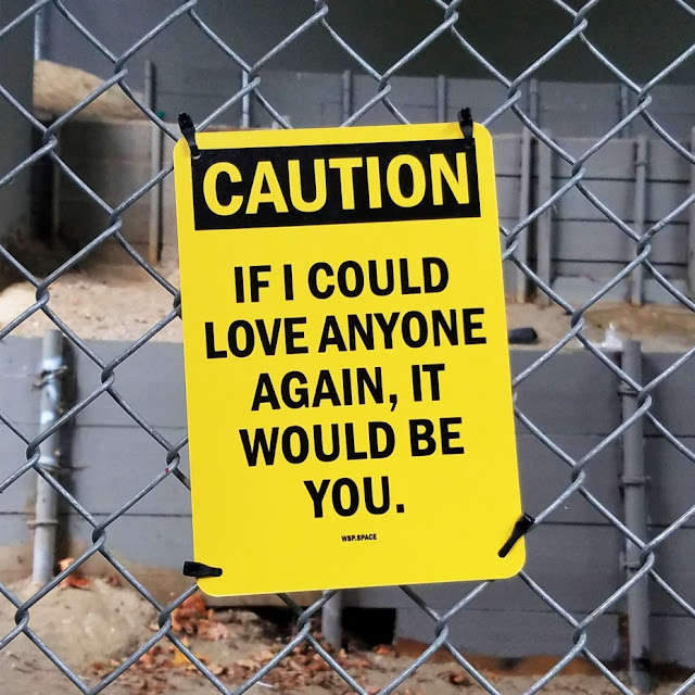 April Soetarman: CAUTION - If I could love anyone again, it would be you.
