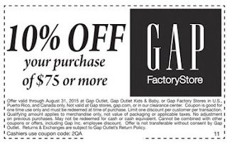 Gap coupons may 2019