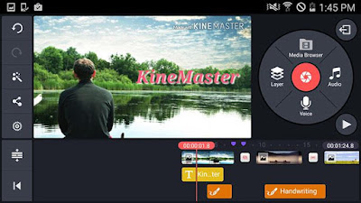 Screenshoot: KineMaster Pro Video Editor Apk