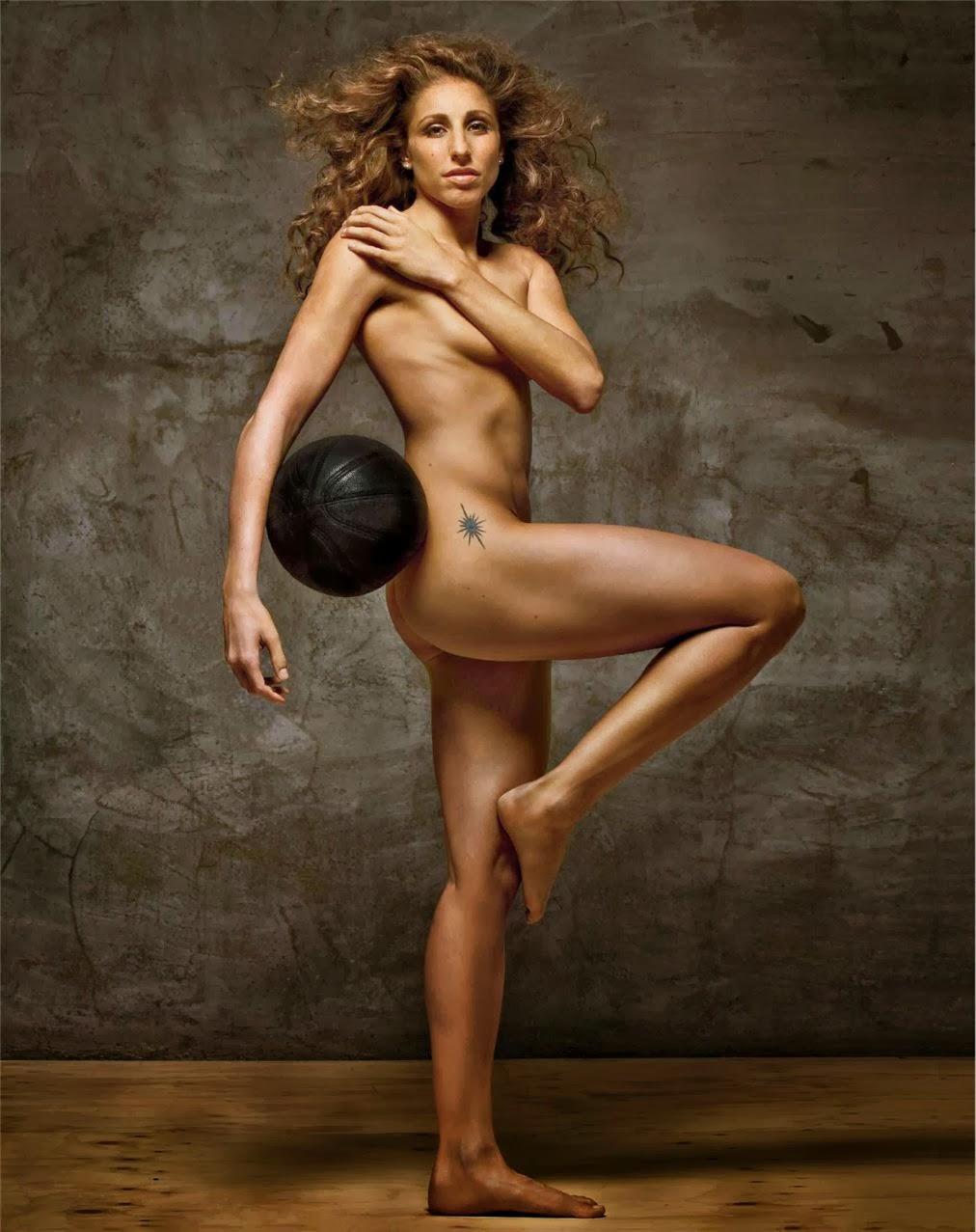 спортсменки голышом