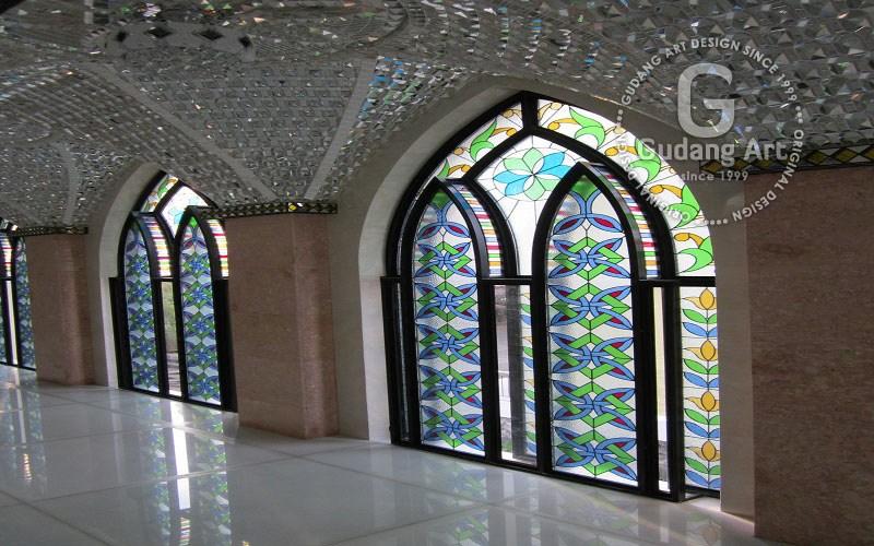 Mengenal Tentang Kaca Patri Jendela Masjid Gudang Art Design