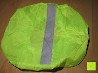 Erfahrungsbericht: Regenschutz für Rucksäcke Rucksackschutz Ranzen Regenschutz Rucksackcover Regenüberzug Neon Sicherheitsüberzug Reflektorüberzug