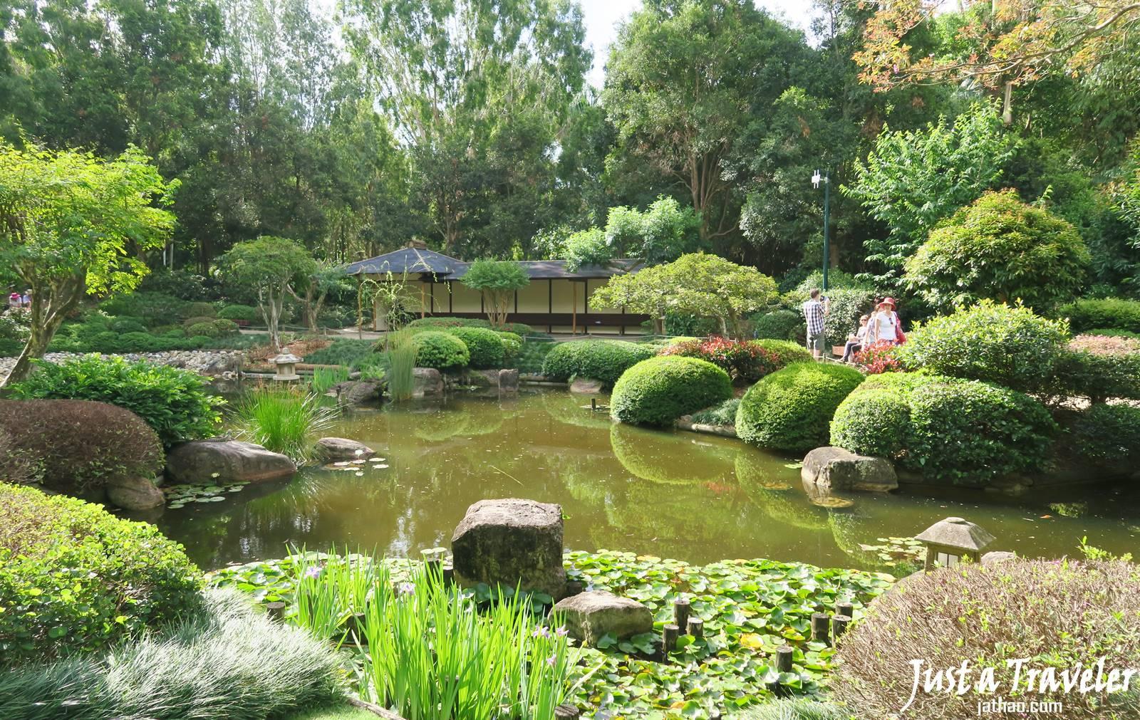 布里斯本-景點-庫薩山-市區-遊記-植物園-Japanese Garden-行程-Mt. Coot-Tha-Brisbane