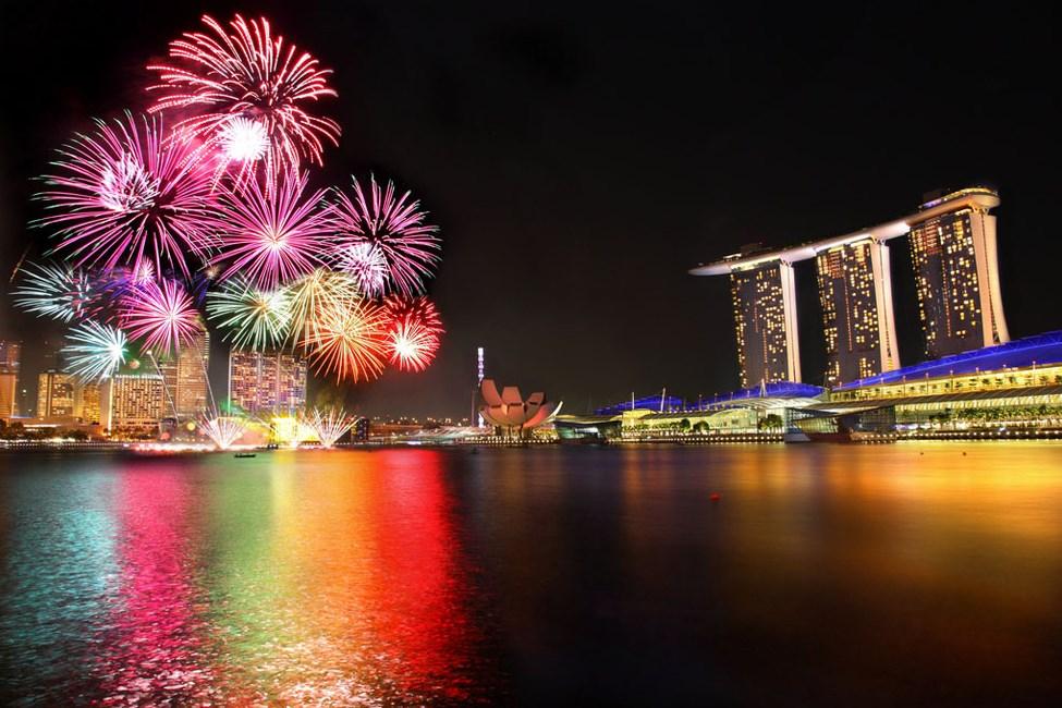 Tips Sederhana Memotret Pesta Kembang Api pada Acara Tahun Baru new years