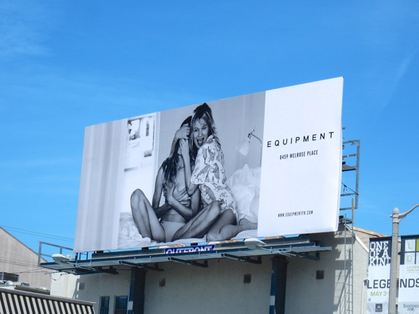 Equipment Spring 2016 fashion billboard