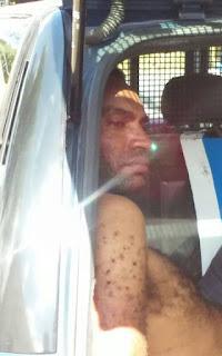 GCM de Santo André, detém meliante por furto de objetos de um veículo produto de roubo próximo a favela da Tamarutaca
