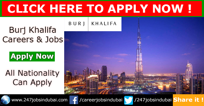 New Job Openings at Burj Khalifa and Careers Opportunities