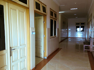 Corridor Of The Patients Room In The Hospital At Sulanyah Village, Seririt, North Bali, Indonesia