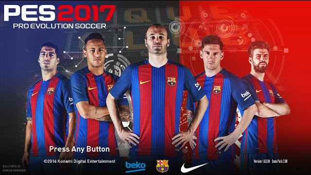 PES 2017 Star Screen v1 By Ez