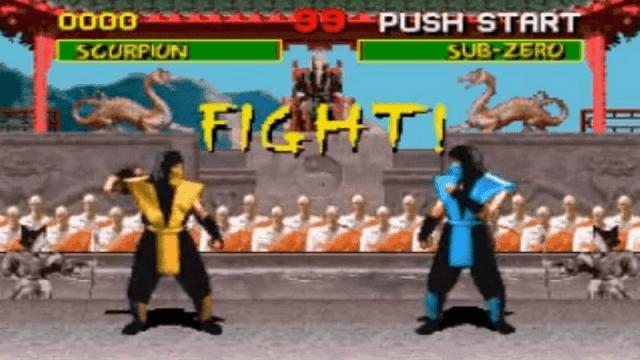 Seri pertama Mortal Kombat dibuat tidak sampai setahun