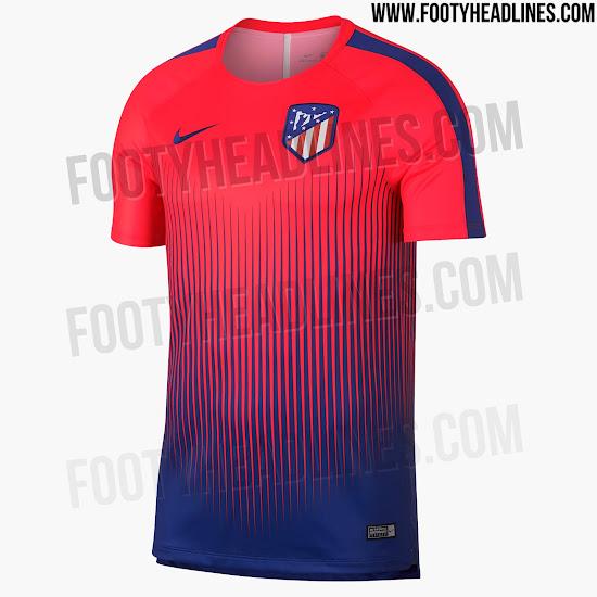Home Kit Design Confirmed - Crazy Nike Atlético Madrid 18-19 Pre ... b235403e4