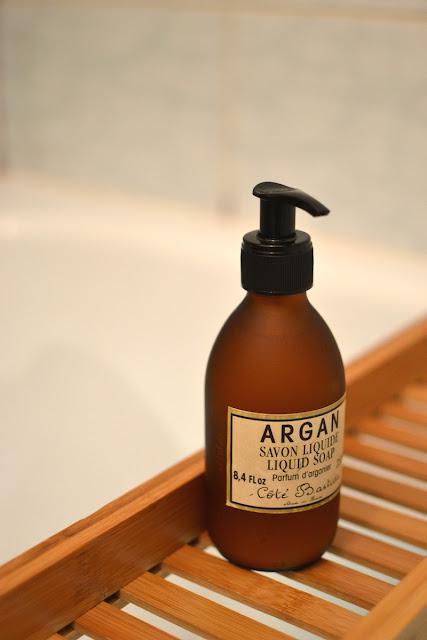 savon liquide à l'huile d'argan - Côté Bastide
