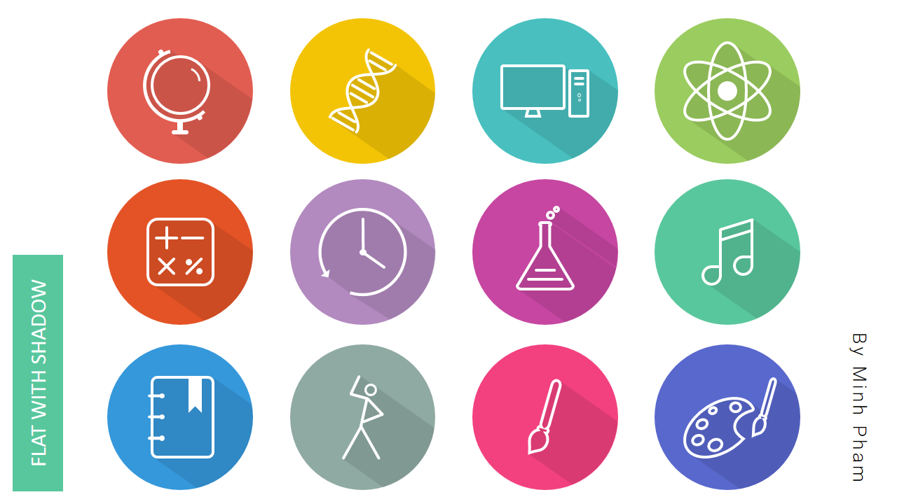 MyClasses powerpoint icons - Minh Pham Blog