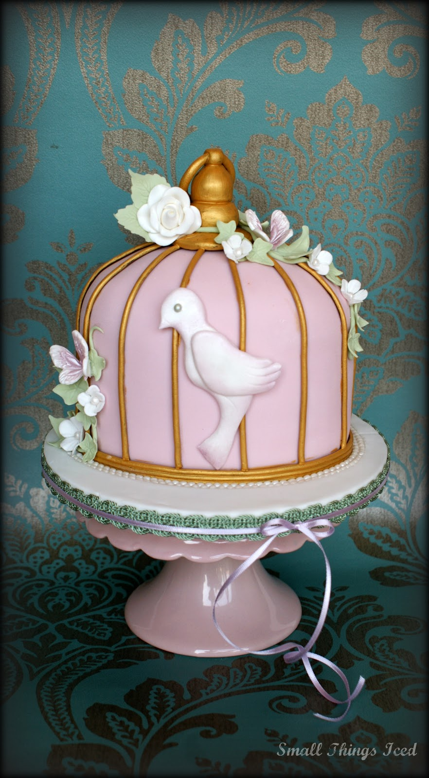Small Things Iced Birdcage Cake