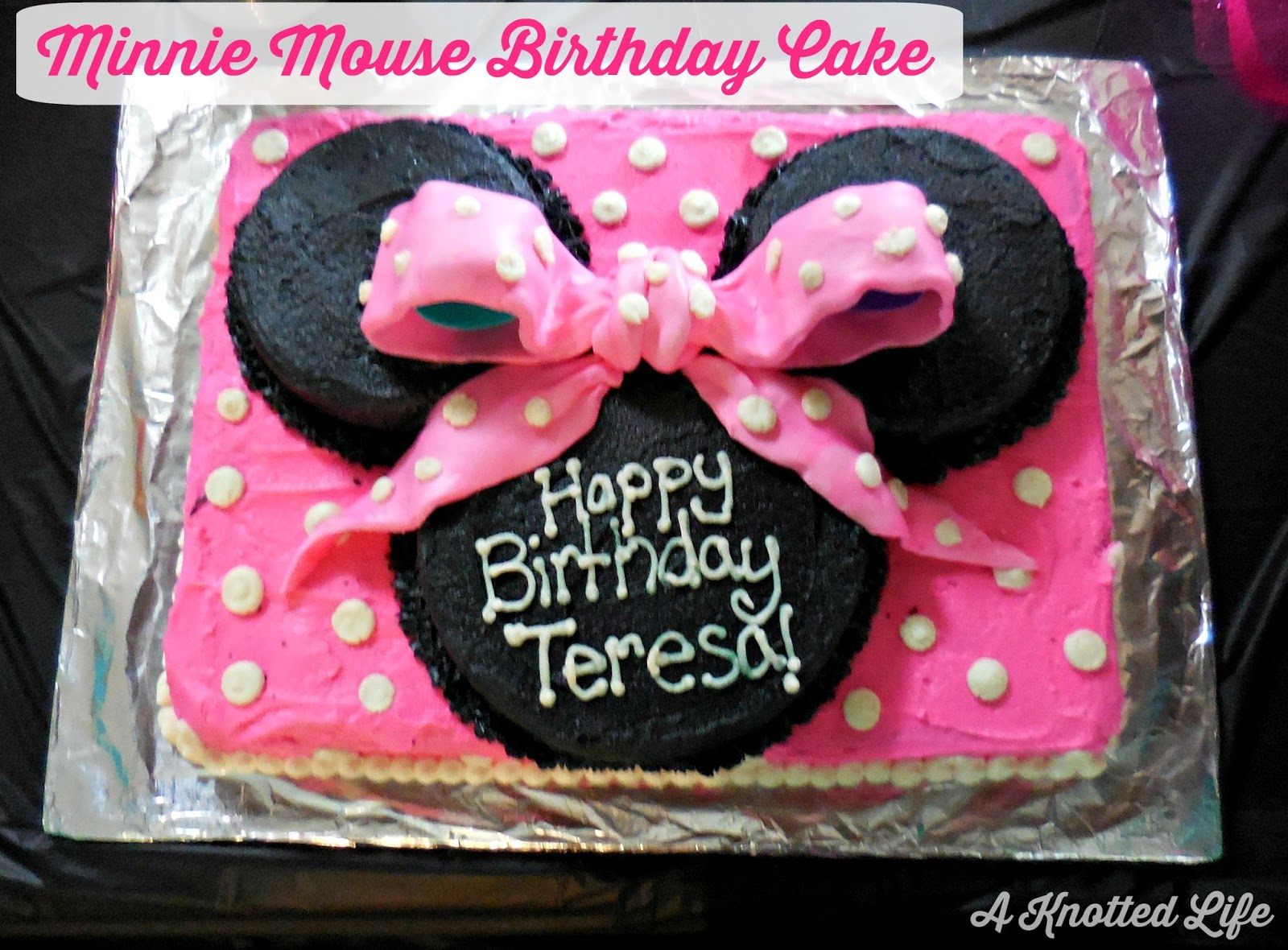 A Ballerina Minnie Mouse Birthday Party